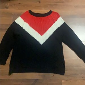 Very cute oversized Express sweater